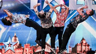 Dance act OK WorldWide are flipping AMAZING! | Britain\'s Got Talent 2015