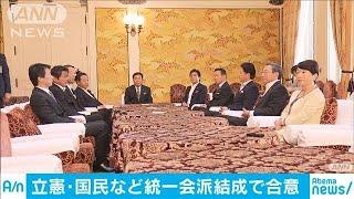 巨大与党に対峙できるか 野党3党派が統一会派結成(19/09/19)