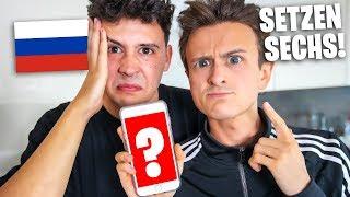 2 RUSSEN machen HAUPTSCHULABSCHLUSS | mit CrispyRob