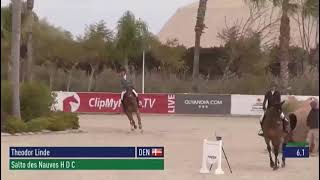 Salto Des Nauves  double clear and placed in 145*** LR class Oliva Nova