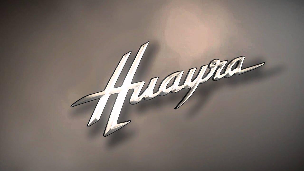 pagani HUAYRA logo 5 - YouTube