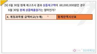 166.장부조회-09.합계잔액시산표