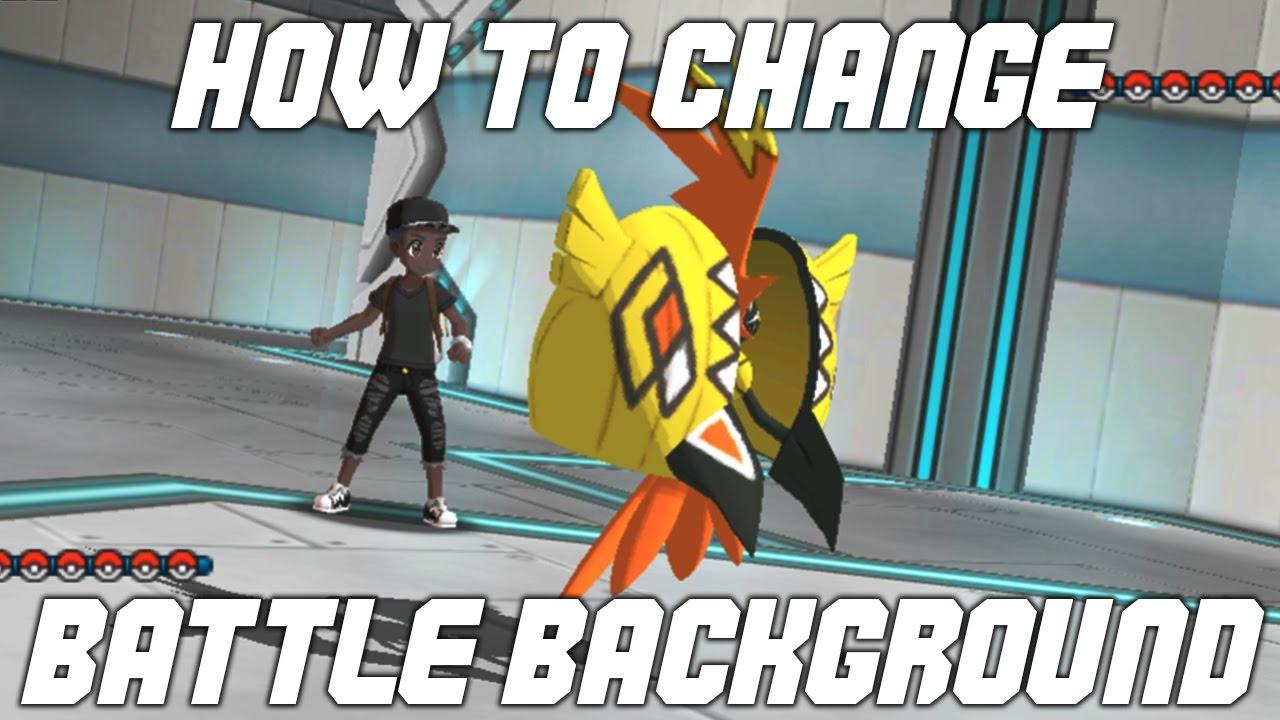 ultra moon how to change pokemon name