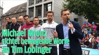 Leukämie: Michael Mronz, Ehemann von Guido Westerwelle, zu Kölner Stabhochspringer Tim Lobinger