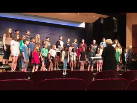 Kyrie Eleison Stonington Singers from Mystic Middle School