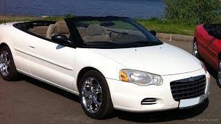 2001-2003  Chrysler Sebring Convertible Window Regulator Installation
