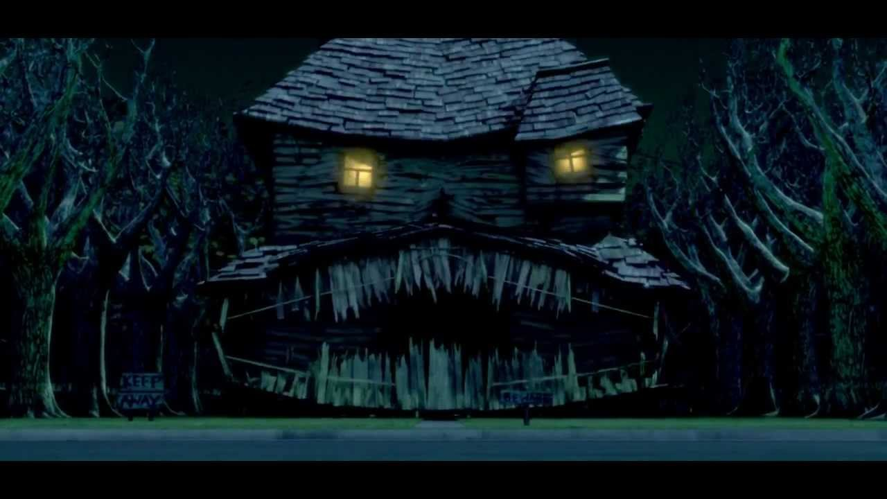 halloween house trailer german