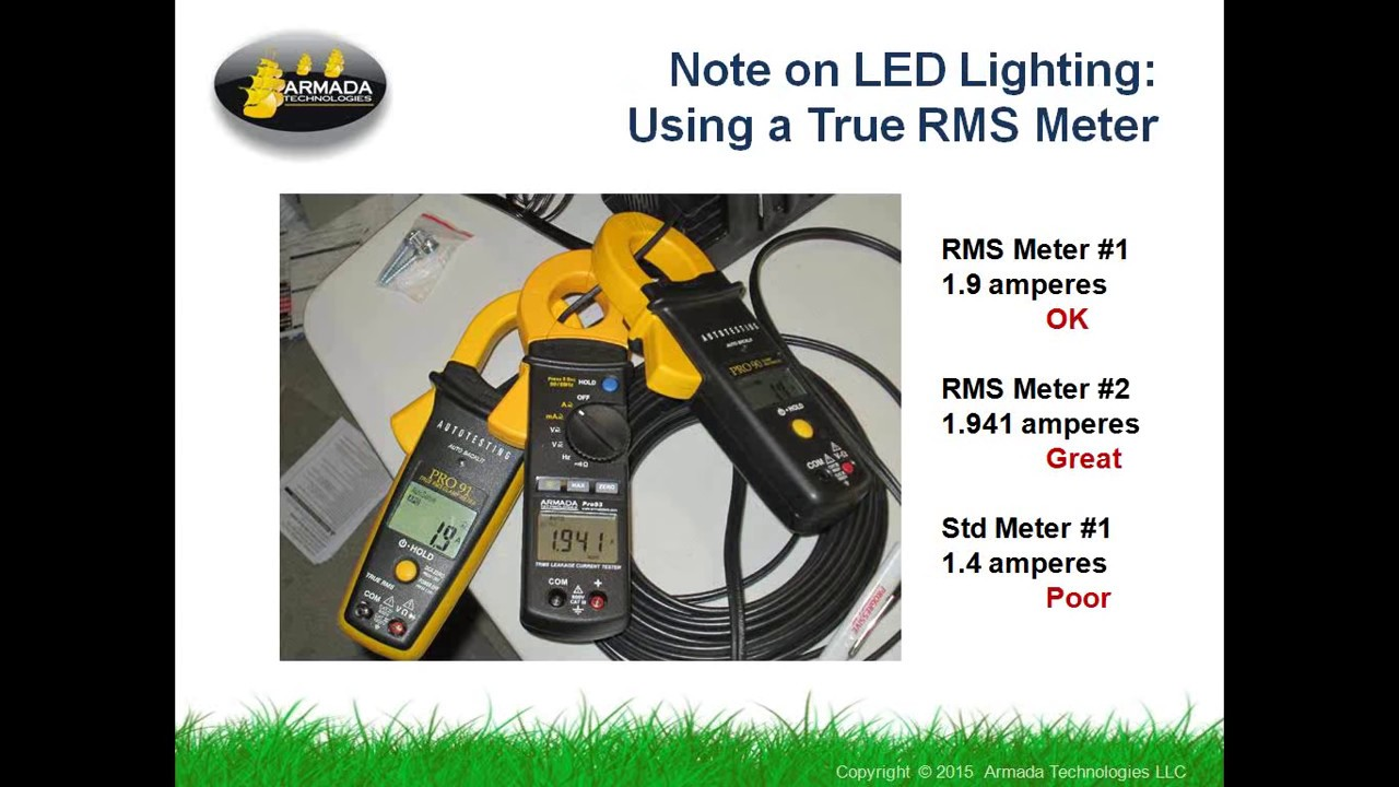 How to Troubleshoot a Low Voltage Lighting System with a Clamp Multimeter