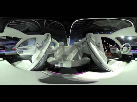 360 Video Exclusive! MERCEDES Concept IAA Digital Transformer At CES 2016!