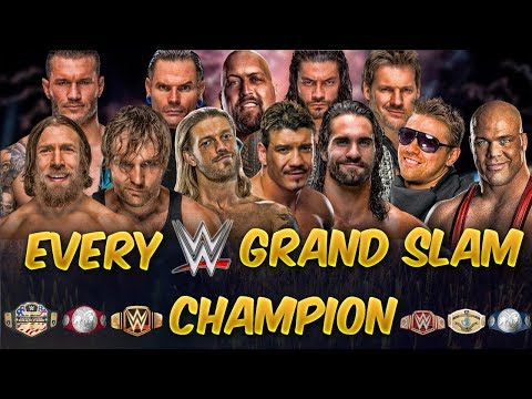EVERY WWE GRAND-SLAM CHAMPION ►CURRENT FORMAT (UPDATED)