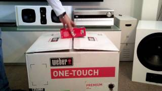 Weber One Touch Premium 2011 Unboxing