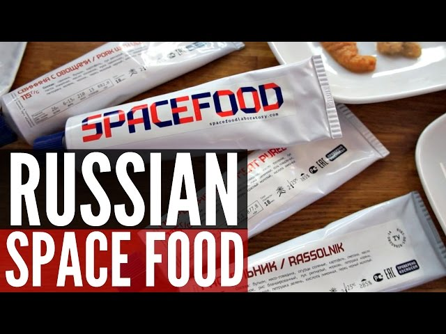 RUSSIAN SPACE FOOD Taste Test