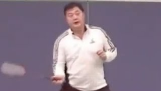 Badminton-Doubles Footwork Training (6) Half Court Random Footwork Training