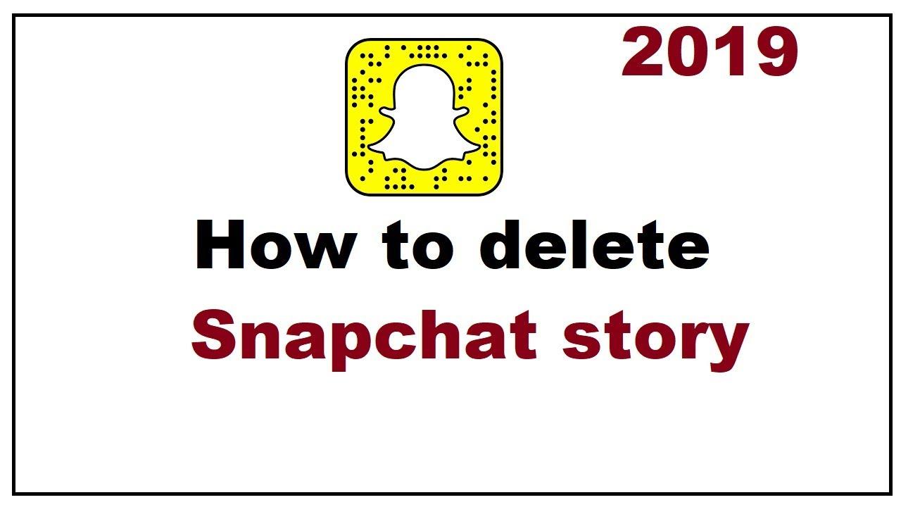 snapchat story löschen