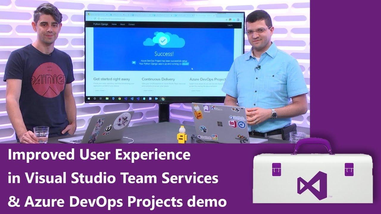Visual Studio Toolbox: Verbesserungen bei der User Experience von VSTS und mehr