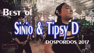 Best of Team STD | SINIO/TIPSY D | Fliptop | DOSPORDOS 2017