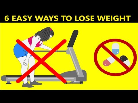 How to lose weight fast without exercise or diet or pills |  6 Easy Tips You Can Use Today