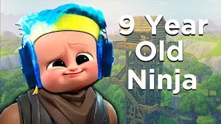 One of Avxry's most viewed videos: 9 Year Old Ninja on Fortnite! - Fortnite Battle Royale