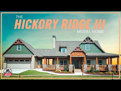 America 39 s home place the hickory ridge iii model tour for Americas home place plans