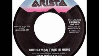 "Ray Parker Jr. – ""Christmas Time Is Here"" (Arista) 1984"
