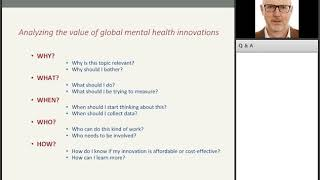 Mental Health Economics: Analyzing Value