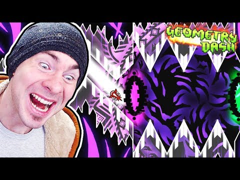 I EAT GODS FOR BREAKFAST // Geometry Dash GOD EATER by Knobbelboy (Practice Mode)