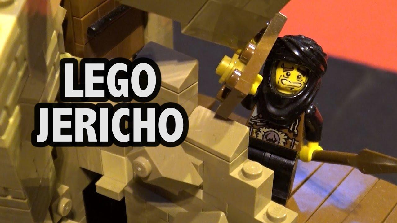 Lego Crumbling Jericho Walls In Motion Brick Birmingham 2016 Youtube