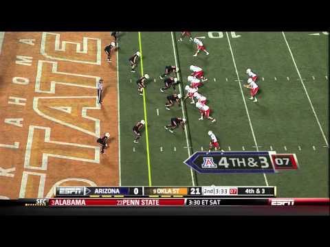 Nick Foles vs Oklahoma State 2011