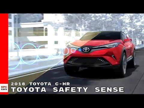 Toyota Safety Sense - 2018 Toyota C-HR