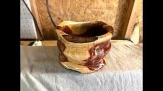 Finally Decided on Turning a Cedar bowl