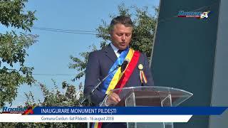 Inaugurare Monument in Cinstea Eroilor din Satul Pildești