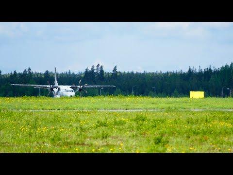 Finnish Air Force CC-3 Casa C-295M takeoff at Seinäjoki EFSI