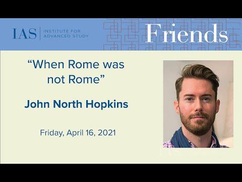 When Rome was not Rome -John North Hopkins