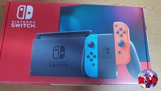 New Switch Better Battery Life & Disgaea Mousepad Unboxing (4K Unboxing Quality)