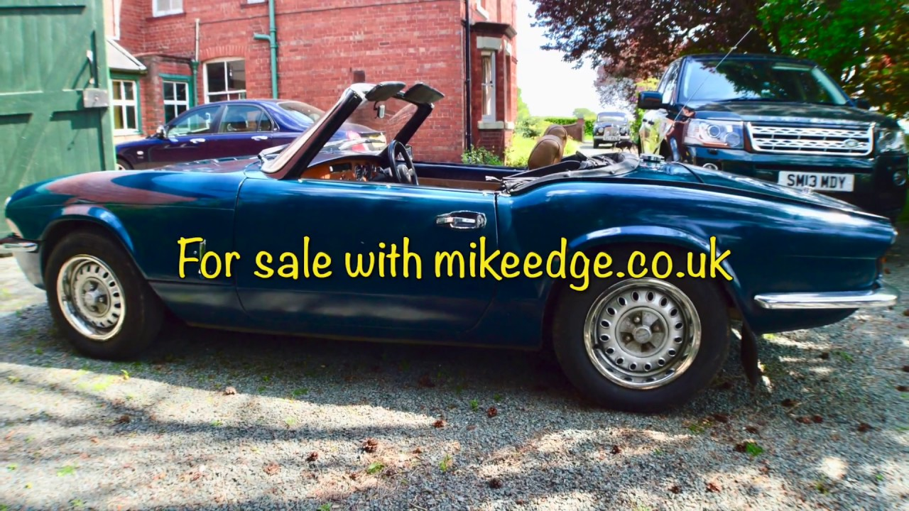 Triumph Spitfire 1500 For Sale Mikeedgecouk Youtube