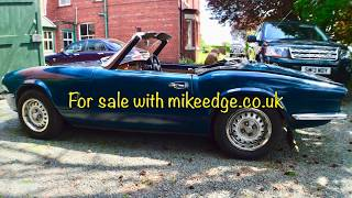 Triumph Spitfire 1500 for sale mikeedge.co.uk