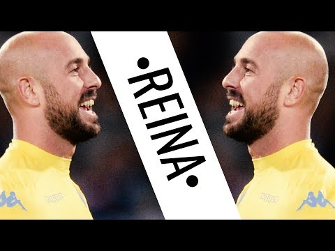 Pepe Reina • 2017/18 • Napoli • Best Saves & Passes • HD