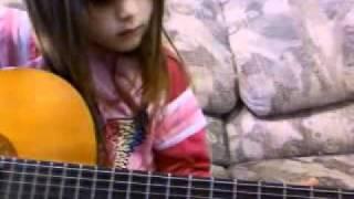 munchkin learning guitar