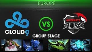 Cloud9 vs Alternate - Kiev Major Europe Qualifier: Group Stage - @BreakyCPK @MerliniDota