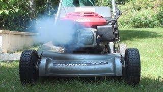 Honda fume !