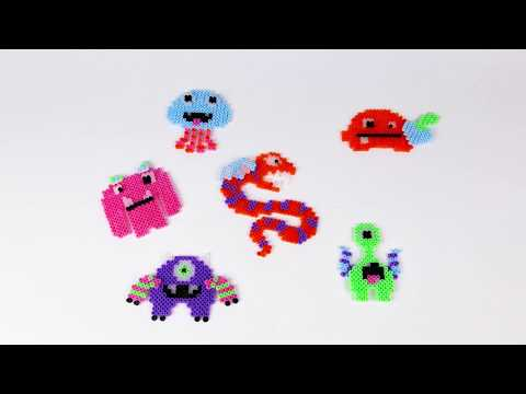 06265 SES Beedz - Glow in the dark monsters