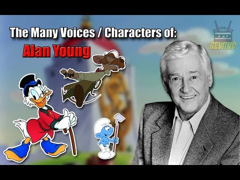 The Many Voices of Alan Young Scrooge McDuck & many others a HD High Quality Tribute