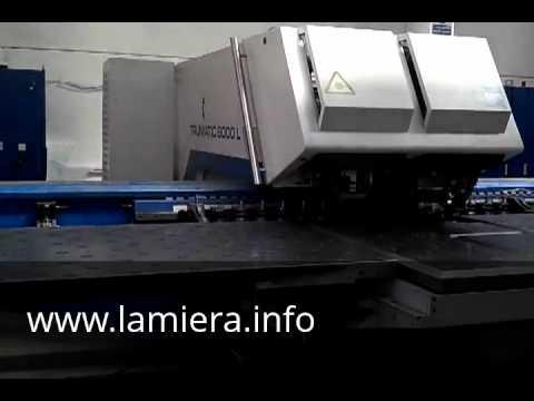 Trumpf 6000L Punzonatrice combinata laser usata