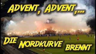 Advent, Advent,... Die Nordkurve brennt | SK Sturm Graz - Admira 3:0, 18. Runde - Bundesliga 2018/19