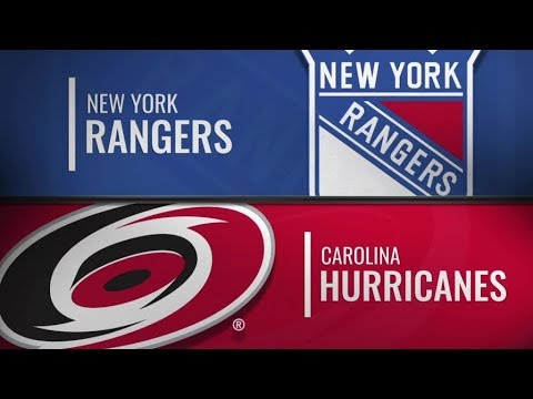 Recap: NYR vs CAR   Oct 7,  2018