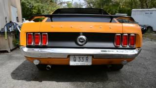69 FASTBACK BOSS TRIBUTE SUPER STRONG 351 WITH CLEVELAND HEADS SHARP CAR