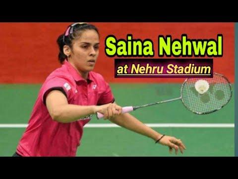 Saina Nehwal at Nehru  stadium(Guahati) Mp3