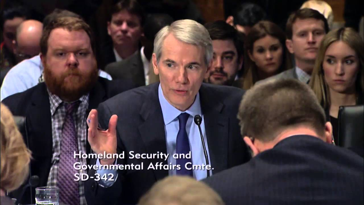 Portman Remarks On Holding Backpage In Contempt Of Congress