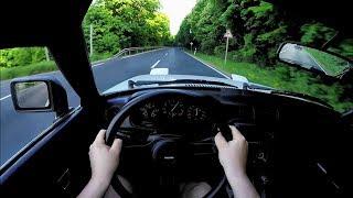 1980 Mazda RX-7 POV Onboard