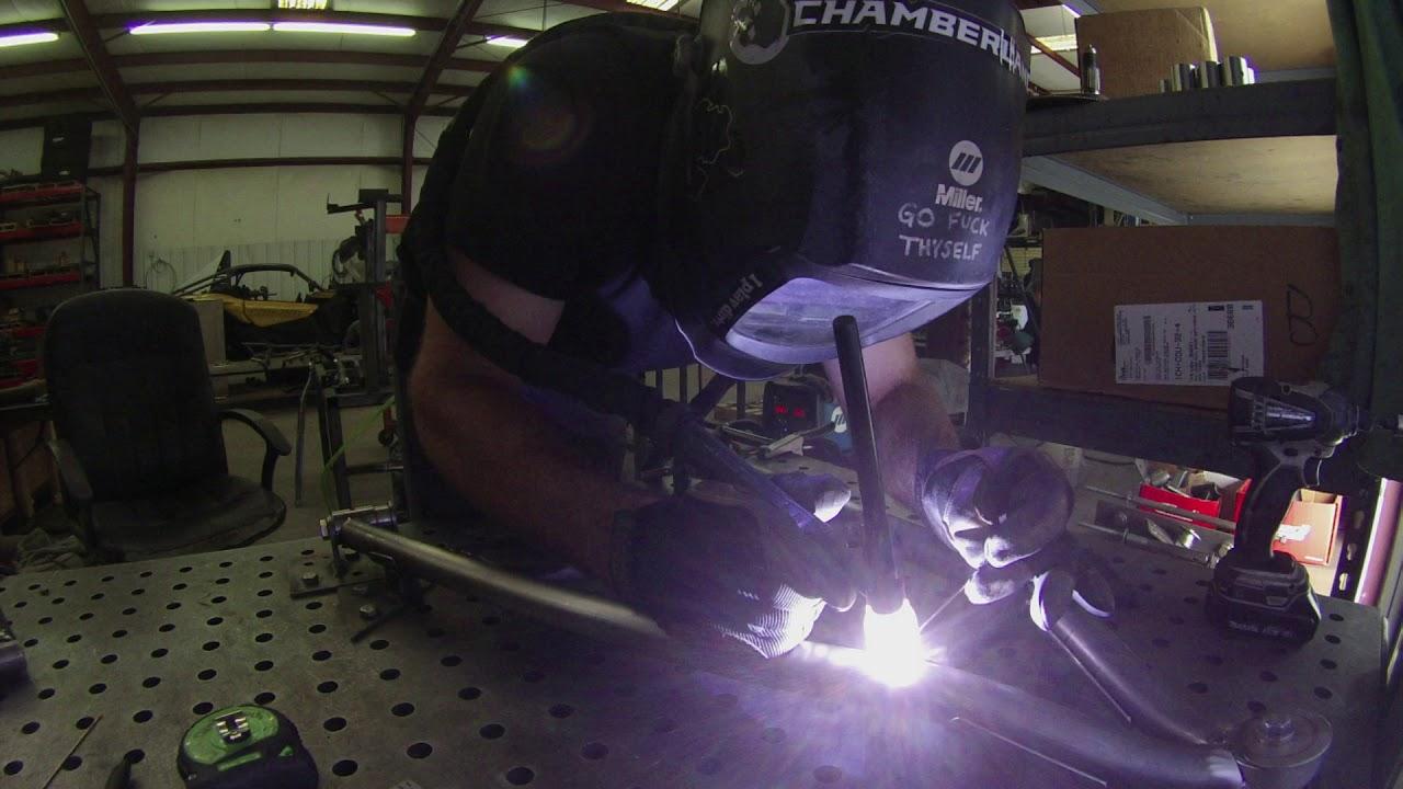 CT Raceworx Can Am X3 chromolly tubular lower control arms Time lapse